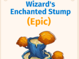 Wizard's Enchanted Stump
