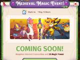 Medieval Magic Event