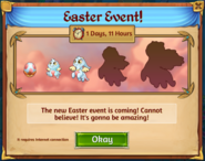 Easter Event Banner