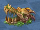 Ancient Dragon Skull
