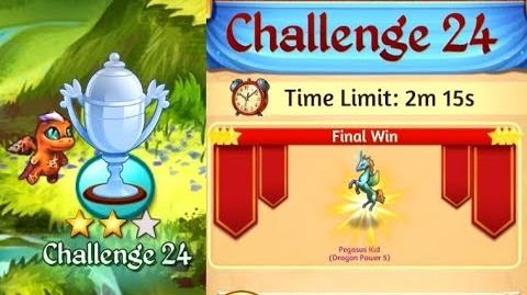 Merge Dragons Challenge 24 Updated Final Win for Pegasus Kid