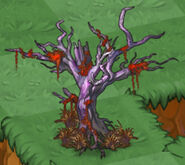 Spooky Old Tree with Necromancer Grass