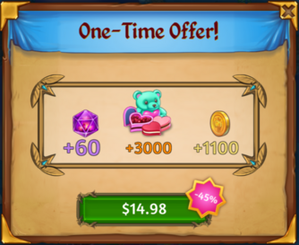 St Valentines Day Event One-Time Offer