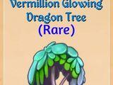 Vermillion Glowing Dragon Tree