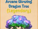 Arcane Glowing Dragon Tree