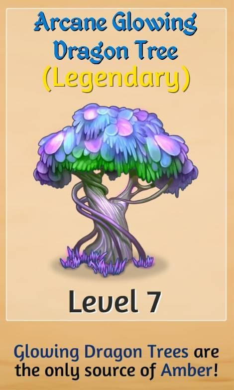 Arcane Glowing Dragon Tree Merge Dragons Wiki Fandom
