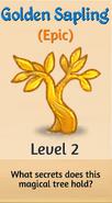 2 - Golden Sapling