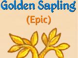 Golden Sapling