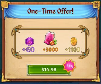 Easter One Time Offer