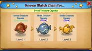 Event Treasure Capsules (Merge Chain)