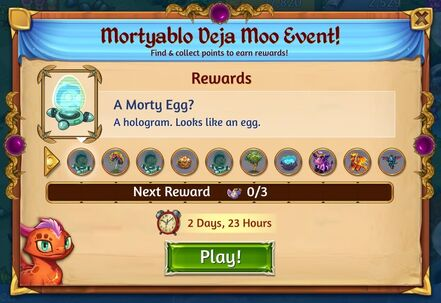 Mortyablo Deja Moo Event Rewards