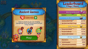 Leaderboards and Game Menu
