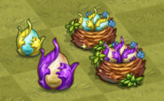 Tier 1 and 2 Wise Dragon Eggs and Nests