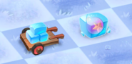 Ice Wagon and Ice Cube