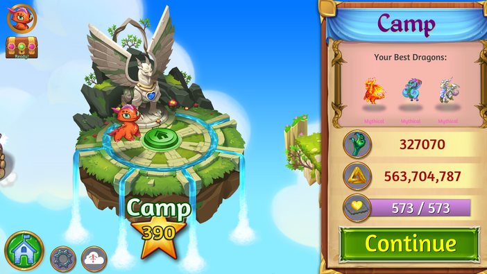 Camp new design