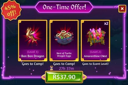 Merge Dragons! Birthday One Time Offer-0
