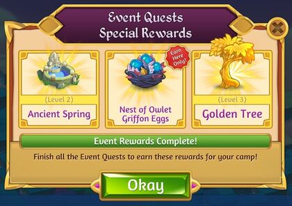 Event Quest Special Rewards