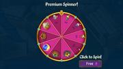 Premium Spinner Wheel