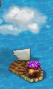 Dragon Gems Raft
