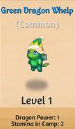 Green Dragon Whelp (Christmas)