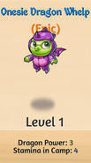 2 - Onesie Dragon Welp