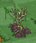 Undead Tree with Necromancer Grass