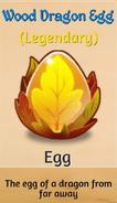 Wood Draogn egg