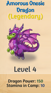 5 - Amorous Onesie Dragon