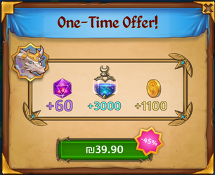 One-Time Offer
