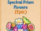 Spectral Prism Flowers