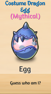 6 - Costume Dragon Egg