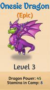 4 - Onesie Dragon