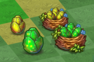 Tier 1 and 2 Spotted Dragon Eggs and Nests