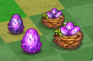 Tier 1 and 2 Butterfly Dragon Eggs and Nests