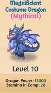10 - Magnificient Costume Dragon