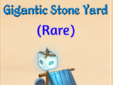 Gigantic Stone Yard