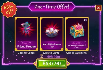 Friendship Event! One-Time Offer!