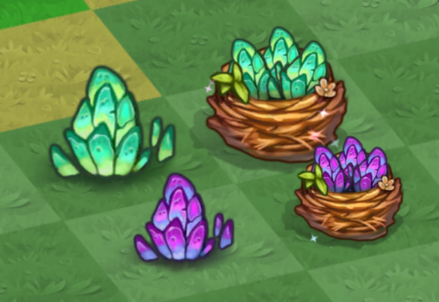 File:Tier 1 and 2 Rock Dragon Eggs and Nests.png