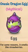 1 - Onesie Dragon Egg