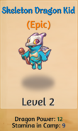 Skeleton Dragon Kid