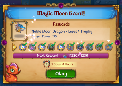 Magic Moon Goals