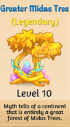 10 - Greater Midas Tree