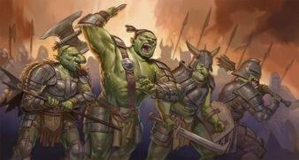 Orc charge by benjie art-d5kjr5f