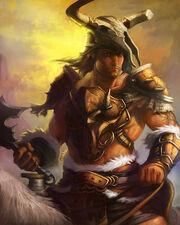 Male-human-barbarian