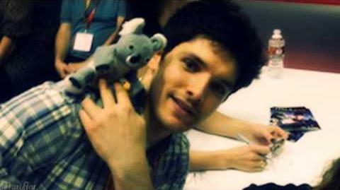 Colin Morgan Happy Birthday (1 1 2013)
