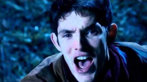 Fus Ro Dah! Merlin's first dragon shout