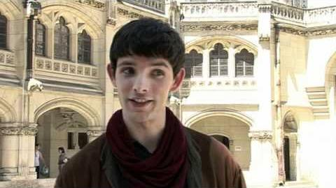 Colin Morgan & Bradley James The Spider Incident