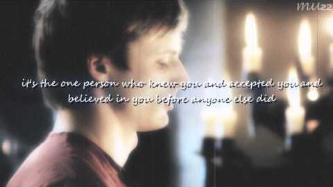 (Merlin&Arthur); what's a soulmate? Merlin BBC