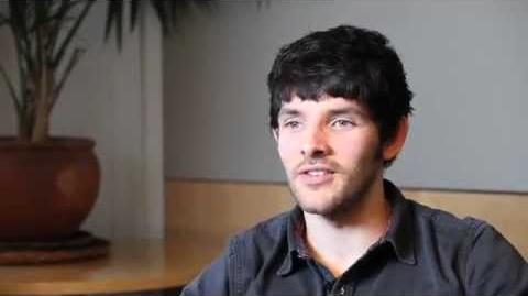 Merlin S5 Colin Morgan on the end of 'Merlin'