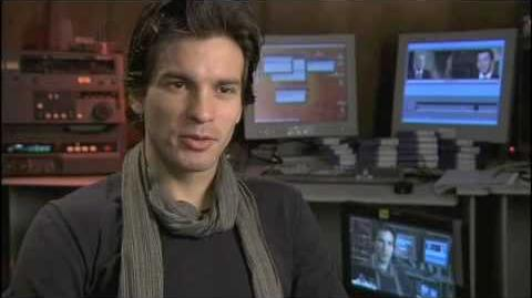 Merlin Series 1 - Santiago Cabrera Lancelot interview part 1 2 2008
